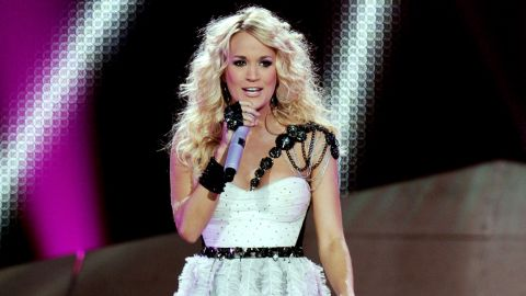 """When Carrie Underwood's <a href=""""http://www.cnn.com/video/#/video/us/2012/09/25/carrie-underwood-first-kiss.cunews4fans"""" target=""""_blank"""">not making the dreams of a young boy come true with a quick kiss</a>, she's knocking out No. 1 albums, <a href=""""http://www.cnn.com/2012/05/09/showbiz/music/carrie-underwood-top-billboard-album-ew/index.html?iref=allsearch"""" target=""""_blank"""">as she did this year with """"Blown Away."""" </a>"""