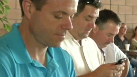 Tweeting during church