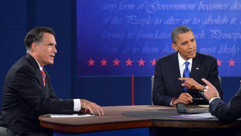 Former Gov. Mitt Romney and President Barack Obama had their final debate Monday night.