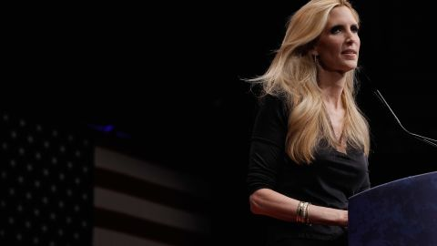 Ann Coulter speaks at the 2012 Conservative Political Action Conference (CPAC) in Washington, DC.