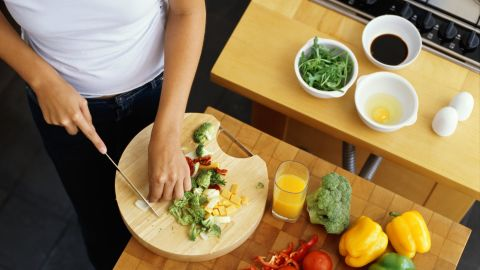 <strong>Separate your food:</strong> Keep uncooked food from contaminating other food with dangerous bacteria. Separate raw meat, poultry, fish and produce from one another and other foods. Use separate cutting boards for meat and vegetables, or thoroughly clean the cutting board before using it to prepare a different food.