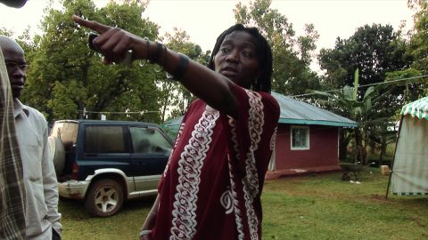 Auma Obama at her family's homestead in the village of Kogelo, Kenya, in 2008 as her half brother attempted to become president of the United States.