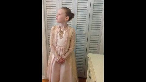 Stella as Princess Grace.