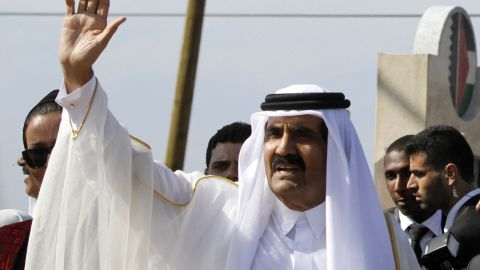 Sheikh Hamad bin Khalifa al-Thani, emir of Qatar, was the object of criticism in a poem that led to its author's arrest.