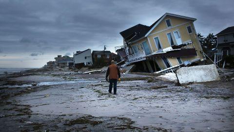 Sandy devastated millions of residents in the eastern U.S., including New York's Rockaway neighborhood.