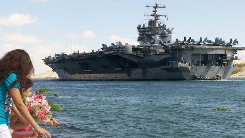 """Senior officers from the aircraft carrier USS Enterprise <a href=""""http://www.cnn.com/2011/US/03/18/navy.videos/index.html"""" target=""""_blank"""">faced disciplinary action</a> in 2011 for their failure to halt a series of raunchy videos shown aboard the Enterprise between 2005 and 2007."""