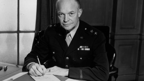 """Dwight D. Eisenhower suffered from ongoing gastrointestinal problems. He was later diagnosed with <a href=""""http://www.cnn.com/2012/08/07/health/crohns-disease-explained/"""">Crohn's disease</a>."""