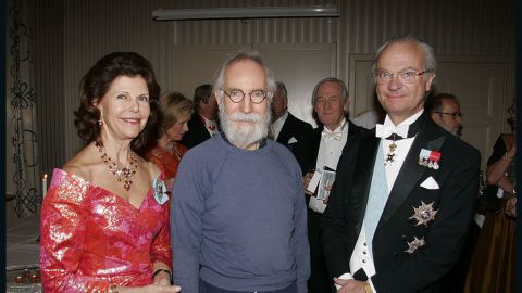 Yrvind gave a talk on his expeditions to the Swedish King and Queen around four years ago. Despite stern words from organizers, he refused to wear a suit at the function.