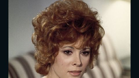 """Jill St. John played diamond smuggler Tiffany Case in """"Diamonds Are Forever."""" Bond is pretending to be Peter Franks when he and Case meet in the 1971 movie, which marked Connery's last turn as 007."""