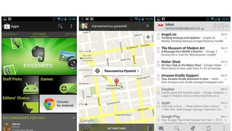 Android has the most detailed interface of the available operating systems.