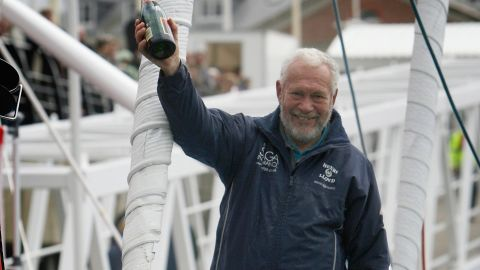 The 73-year-old said Yrvind could complete the voyage, adding that many people had thought his own bid to circumnavigate the globe was impossible at the time.