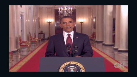 Obama announces bin laden death