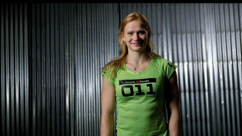 """Annie Thorisdottir recently earned the title of the world's fittest woman by taking first place at the <a href=""""http://games.crossfit.com/video/annie-thorisdottirs-victory"""" target=""""_blank"""" target=""""_blank"""">2012 Reebok CrossFit Games</a>. The competition includes everything from weightlifting to jumping rope. """"I think my strengths are that I can usually just keep on going,"""" the Icelandic athlete told CrossFit. """"I don't really need to stop and rest."""""""
