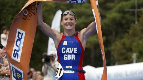 """Leanda Cave became the first female in history to win both the Ironman World Championship and the Half Ironman World Championship in 2012.  The British athlete finished the 2.4-mile swim, 112-mile bike ride and 26.2-mile run in nine hours, 15 minutes and 54 seconds, <a href=""""http://www.bbc.co.uk/sport/0/triathlon/19940336"""" target=""""_blank"""" target=""""_blank"""">according to the BBC</a>."""