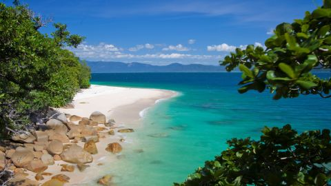 """Australian eco-tour operator, <a href=""""http://www.smallworldjourneys.com.au"""" target=""""_blank"""" target=""""_blank"""">Small World Journeys</a>, is staging a Tropical Island Eclipse trip that includes luxury accommodation on the gorgeous Fitzroy Island adjacent to the Great Barrier Reef. Stargazers will watch the eclipse from the island paradise's 900-foot summit and attend an astronomy presentation given by Nobel Prize winner Dr. Brian Schmidt."""