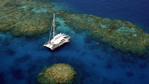 """From luxury catamarans to dive boats, several sailing vessels will be departing Port Douglas and Cairns. Operators such as <a href=""""http://www.passions.com.au/"""" target=""""_blank"""" target=""""_blank"""">Passions of Paradise</a> are giving passengers the chance to jump in the water to snorkel the moment the moon completely blocks the sun so they can see how the marine life of the Great Barrier Reef behave during the natural phenomenon."""