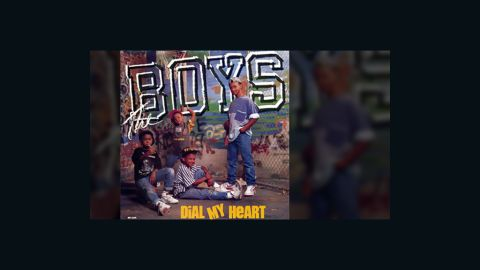 """The Boys released three albums between 1988 and 1992. """"Dial My Heart"""" was the debut single from brothers Khiry, Hakim, Tajh and Bilal Abdulsamad.<br />"""