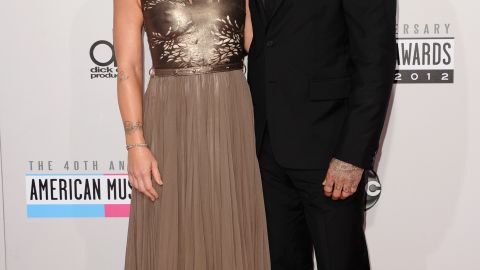 """Pink and motocross racer Carey Hart first tied the knot in 2006, and after two years of matrimony, the tattooed lovebirds <a href=""""http://www.mtv.com/news/articles/1581962/pink-speaks-out-about-split-with-carey-hart.jhtml"""" target=""""_blank"""" target=""""_blank"""">were ready to call it quits</a>. Yet after just a year apart, <a href=""""http://www.gossipcop.com/pink-redbook-march-2013-cover-interview-butch-carey-hart-willow/"""" target=""""_blank"""" target=""""_blank"""">Pink made a move</a> to rekindle their romance. <a href=""""http://www.people.com/people/article/0,,20484101,00.html"""" target=""""_blank"""" target=""""_blank"""">The couple welcomed their first child, daughter Willow Sage</a>, in June 2011."""