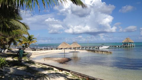 Anti-virus innovator John McAfee's property in Belize has a spectacular beach view.