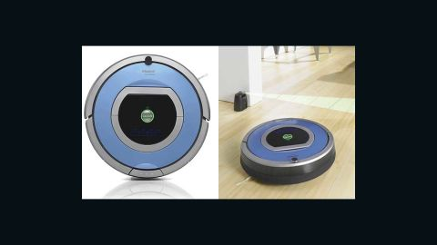 """Cleaning your floor isn't fun -- unless you have a smart floor-cleaning robot that you can control with a remote while sipping a cocktail. <a href=""""http://www.irobot.com/us/robots/home/roomba.aspx"""" target=""""_blank"""" target=""""_blank"""">Roombas</a> are pricey, from $350 up to $700, but they know exactly where to clean and even go under the bed without complaining (except sometimes <a href=""""https://twitter.com/SelfAwareROOMBA"""" target=""""_blank"""" target=""""_blank"""">on Twitter</a>)."""