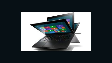 """The new Windows 8 devices have some much-needed personality -- and none more so than the <a href=""""http://www.lenovo.com/products/us/laptop/ideapad/yoga/yoga-13/"""" target=""""_blank"""" target=""""_blank"""">Lenovo IdeaPad Yoga 13</a>. This is a bendy, touchscreen Ultrabook that costs $1,000. You can fold the screen all the way back to use it as a tablet and get the most out of the new Windows 8 touchscreen interface."""