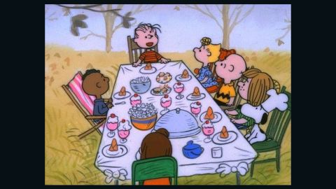 """""""A Charlie Brown Thanksgiving"""" has been airing for decades."""