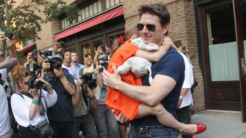"""""""I have in no way cut Suri out of my life,"""" Tom Cruise says of his young daughter."""