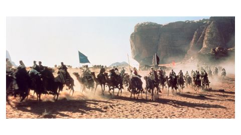 The attack on Aqaba -- one of the films most famous scenes -- was actually filmed in southern Spain. The appearance of the town in 1917, comprising over 300 buildings, was painstakingly recreated in a dry river bed.