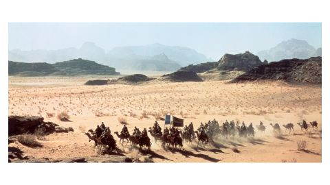 """Jordan's desert vistas feature prominently in David Lean's epic """"Lawrence of Arabia"""" -- which celebrates its 50th anniversary this year."""