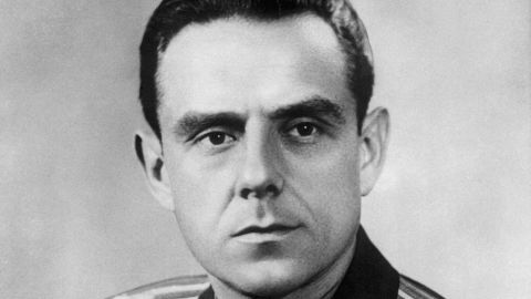 Soviet cosmonaut Vladimir Komarov was the first human to die during a space mission. He died when the Soyuz 1 spacecraft crashed during its return to Earth on April 23, 1967. It was his second spaceflight.
