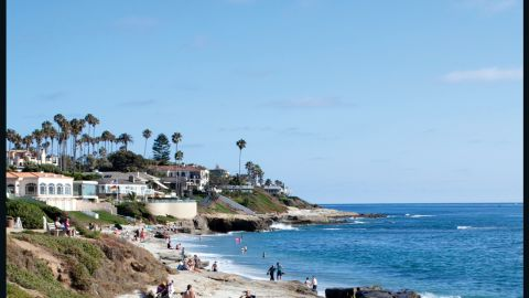 Always a bridesmaid, San Diego once again holds the number two spot for good looks in T+L's survey.