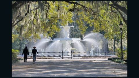 The velvety drawl of the southerners living in Savannah, Georgia, helped them land the number 8 spot on T+L's best looking cities list.