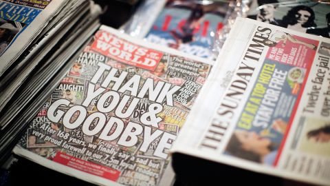 Anger over the hacking of Milly Dowler's phone led Rupert Murdoch to close 168-year-old News of the World in July 2011.
