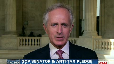ac senator corker fiscal cliff_00001121