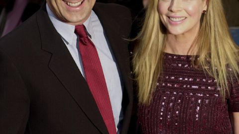 """Baldwin had a contentious divorce from actress Kim Basinger in 2002, which included a custody battle over their daughter, Ireland. The pair had <a href=""""http://www.people.com/people/archive/article/0,,20133526,00.html"""" target=""""_blank"""" target=""""_blank"""">a passionate and stormy nine-year marriage. </a>"""