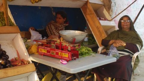 Pakistani grandmother Rabia Song: I go to three markets to do my shopping because prices are so competitive. A poor man barely survives.