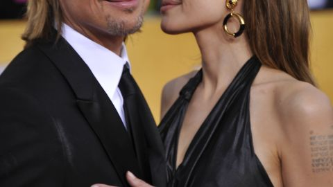 Pitt and Jolie are supporters of marriage equality and have said that they won't marry until everyone can. Yet the couple has taken one step closer to the altar this year as Pitt and Jolie announced their engagement in April, a few months after they were seen at the 2012 SAG Awards. The two were prompted by their kids to get engaged, Pitt told CNN in November 2012, but he clarified that they're also getting married for themselves.