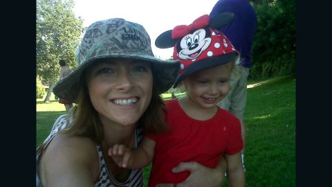 Rachel Hope and her daughter at a park in West Los Angeles in 2011. Hope struggled with post-traumatic stress disorder for years before trying a controversial treatment: the drug Ecstasy.