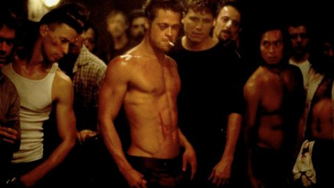 """After """"12 Monkeys,"""" Pitt went on to knock out """"Seven Years in Tibet"""" (1997), """"Meet Joe Black"""" (1998) and """"Fight Club"""" (1999), as seen here. The then 35-year-old actor captivated audiences as the volatile Tyler Durden."""
