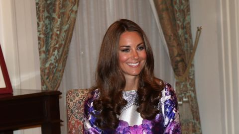 """She wore a Prabal Gurung dress while visiting the Istana in Singapore on September 11. """"So xctd that I just stopped some strangers on the street n showed them the pic of Kate Middleton in our dres,"""" <a href=""""https://twitter.com/prabalgurung/status/245531890067595264"""" target=""""_blank"""" target=""""_blank"""">Prabal Gurung tweeted</a> that day."""