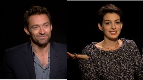 CNN talks to Hathaway and Jackman