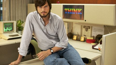 """""""jOBS"""" stars Ashton Kutcher in the title role and dramatizes selected highlights of Steve Jobs' life."""