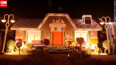 """Some displays are more common than others -- this <a href=""""http://ireport.cnn.com/docs/DOC-888355"""">unusual candy house display</a> in Binan City intrigued iReporter Pauline Alvarez.  """"You can't help but smile at the sight of this. Isn't that what Christmas is about?"""" she said."""