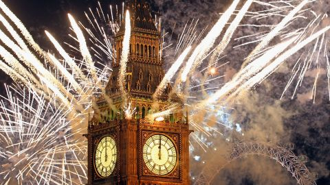 """<strong>January 1:</strong> Fireworks light up the London skyline just after Big Ben struck midnight, kicking off 2012. Photographers worldwide captured deadly conflicts, devastating storms, presidential politics and other memorable moments throughout the year. Click through the gallery to see 2012 unfold from beginning to end.  Then check out <a href=""""http://www.cnn.com/2012/11/29/worldsport/gallery/2012-sports-moments/index.html"""" target=""""_blank"""">75 amazing sports moments you missed this year.</a>"""