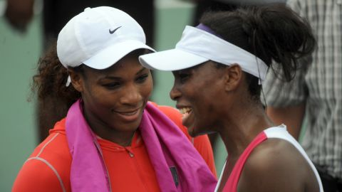 """Sometimes you get two great athletes, but they are too close to be proper rivals -- such as tennis star Serena Williams, left, and her sister Venus. """"The great things about sport is the sense of competition, the uncertainty of the outcome, the fairness of the playing field,"""" Tu says. """"You might be able to suspend enough of your fraternal or sisterly love to play a decent game of tennis but it won't reach the heights of the rivalries that make the sport."""""""
