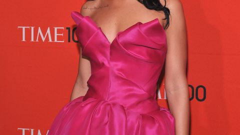 In April 2012, she attends the Time 100 Gala in New York City.