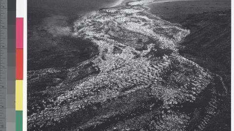 Stream, Sea, Clouds, Rodeo Lagoon, Marin County, California, 1962.