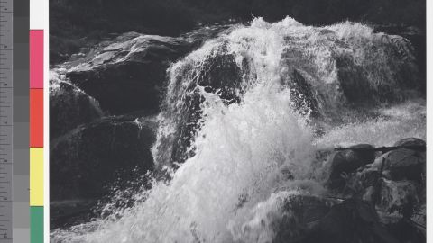 Waterfall, Northern Cascades, Washington, 1960.