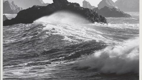 Waves, Dillon Beach, California, 1964.