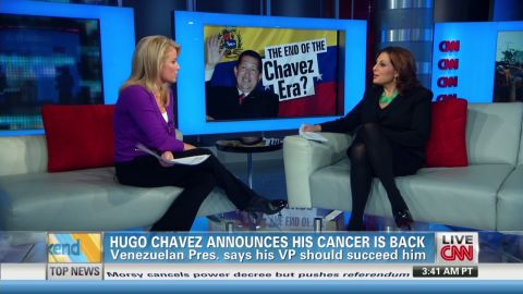 exp Hugo Chavez cancer back_00011829